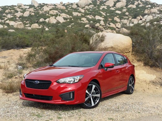 The Subaru Impreza gets a leaner, more streamlined