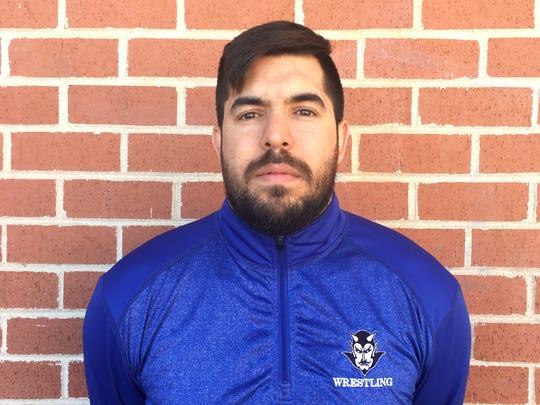 Tucson Sunnyside wrestling coach Anthony Leon is the