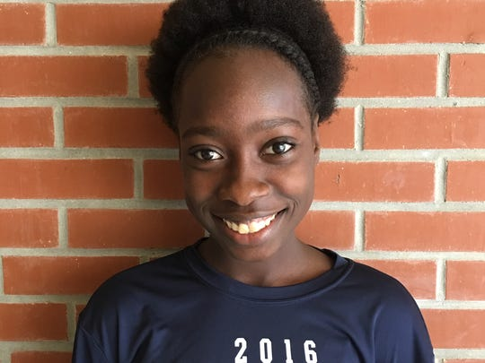 Merlica Faustin, Naples High track and field