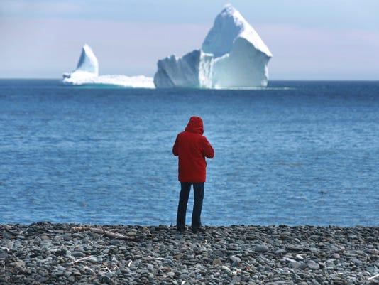 AP ICEBERG SHIPPING LANES I CAN NL