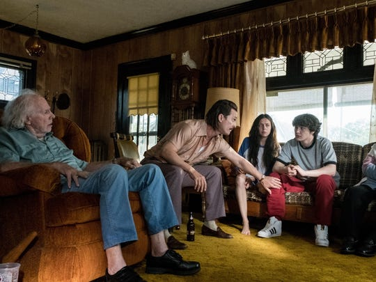 "Bruce Dern, Matthew McConaughey, Bel Powley, Richie Merritt and Piper Laurie star in the upcoming ""White Boy Rick."""