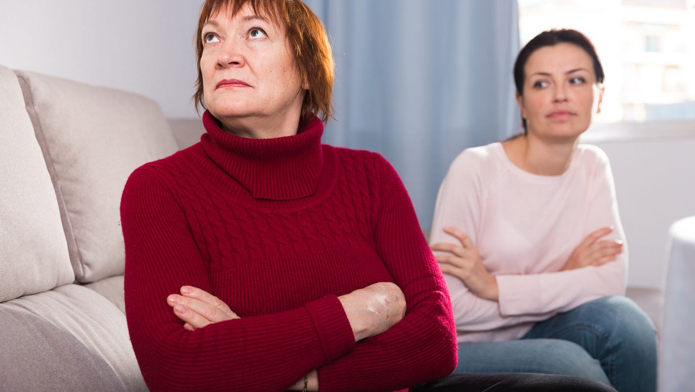 Adult daughter constantly criticizes mom
