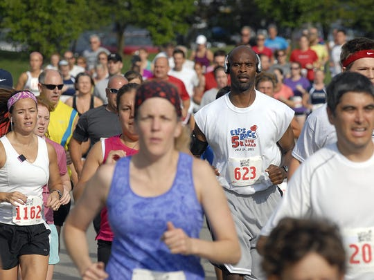 Ele's Race 5K run is part of the 12-event Greater Lansing Area Race Series this year.