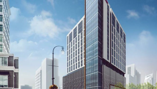 The hotel planned for 315 Third Ave. S. is expected to have 390 rooms.