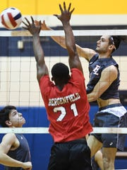 Fair Lawn vs. Bergenfield in the Bergen County volleyball