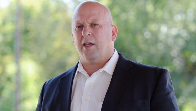 Rep. Scott DesJarlais, R-Tenn., attends a meet and greet in Columbia, Tenn. , Sept. 24, 2012.