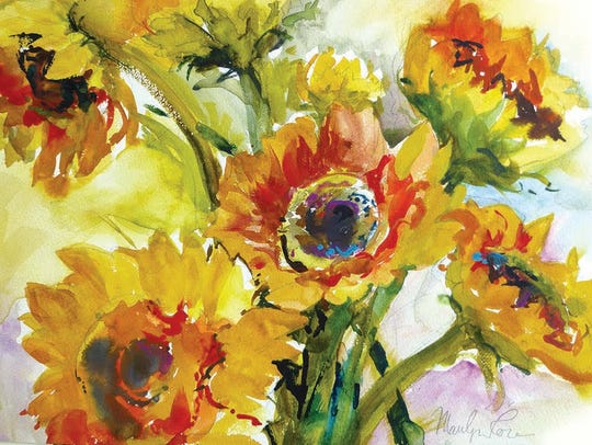 A burst of Energy by Marilyn Rose