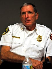 Marco Island Fire Chief Mike Murphy