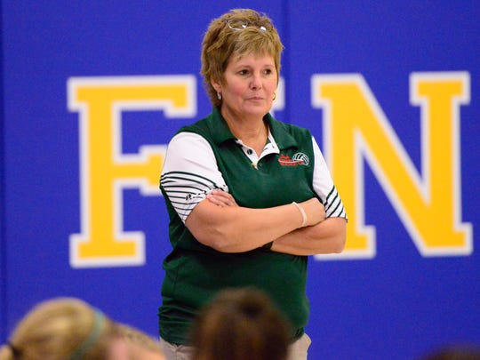 Oak Harbor's Jacki Gezo earned coach of year honor in Division II in District 6.