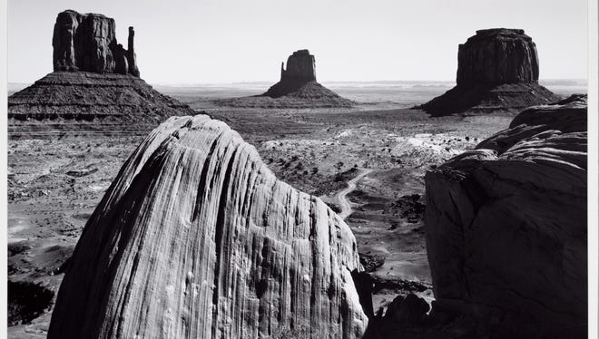 'Monument Valley, Arizona, 1958' is part of the 'Ansel Adams: Masterworks' exhibition opening this weekend at the Farmington Museum at Gateway Park.