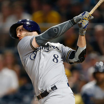Notes: With the damaged nerve in his thumb flaring up, Ryan Braun goes for more cryotherapy
