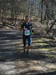 Natasha Shipman of Swannanoa was the overall female winner of the Tsali Frosty Foot 30K last year.