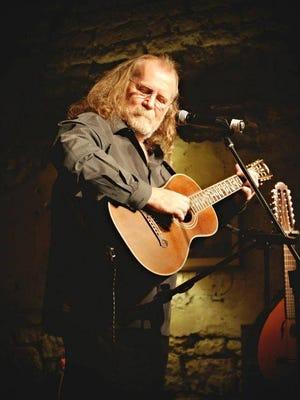 Thomas P. Radcliffe performs at The Old Mill Playhouse at 641 Sudderth Drive at 7 p.m. Saturday.