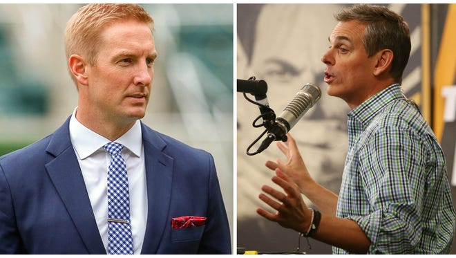 Joel Klatt and Colin Cowherd.