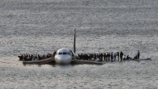 On Jan. 15, 2009, a US Airways Airbus 320 jetliner safely ditched in the frigid waters of the Hudson River in New York, after a flock of birds knocked out both its engines. All passengers survived, in what became known as the 'Miracle on the Hudson.'