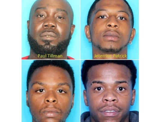 Four men are facing murder charges connected to the