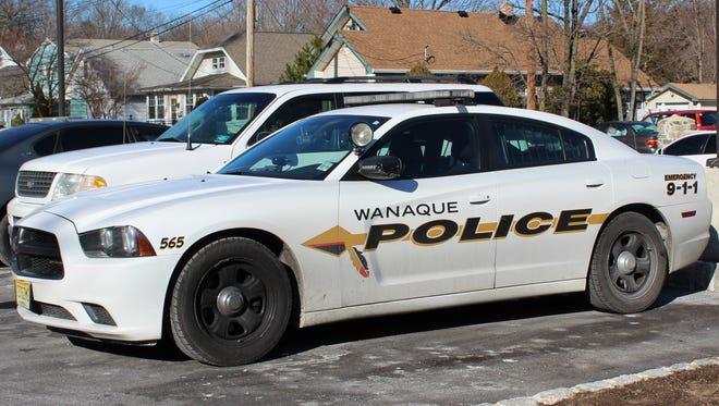 Wanaque police car.