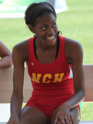 The Community Press/Scott Springer North College Hill's Jazmin Smith is returning for her fourth straight appearance at the state track meet.