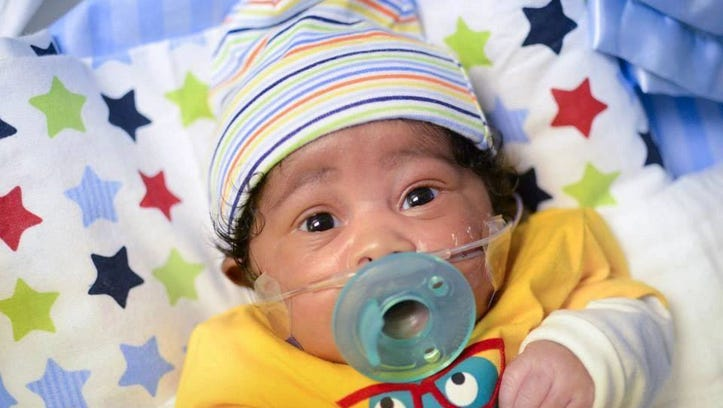 'Zion's Saving Grace': Baby's life, death steadied parents' faith with legacy of love