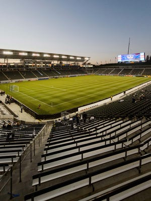 A general view of the StubHub Center in Carson, Calif.