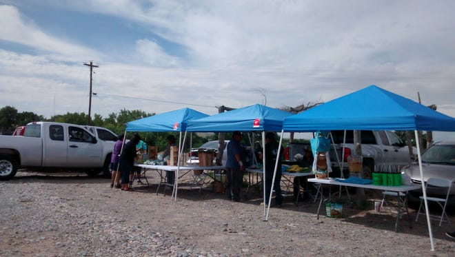 The first year of the Tsé Daa K'aan Community Farmers Market took place last summer in the Tsé Daa K'aan Chapter.