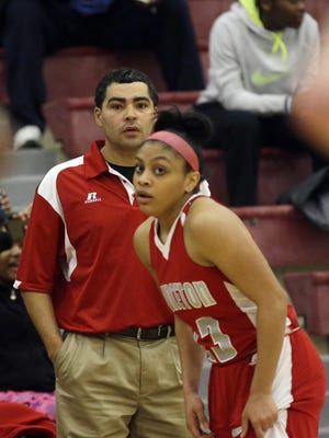 Princeton's Markayla Sherman, in a game against Lakota East last season, was named Enquirer Athlete of the Week.