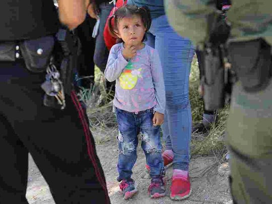 About 2,000 migrant children have been separated from their parents at the southern border under the Trump administration's zero-tolerance immigration policy. USA Today U.S. border and immigration officers have separated about 2,000 migrant children from their parents at the Southern Border under the Trump administration's zero-tolerance immigration policy.