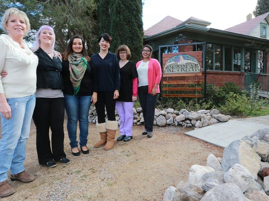 The Retreat staff includes, left to right, Lynn Arnold, Amissa Metcalf, Lety Knight, Blanca Gonzalez, Luz Chavez and Stephanie Rodriguez