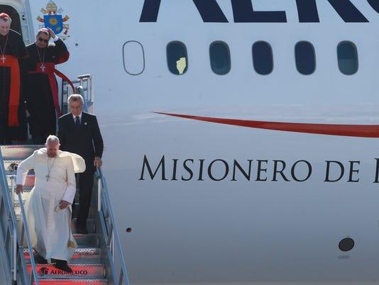 Pope Airport Juarez