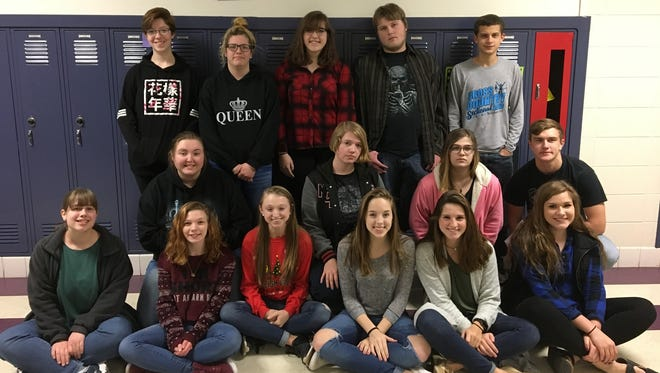 Kiel High School students in the creative writing English class collectively created a movie using their script-writing skills, video formatting techniques and overall creative abilities.