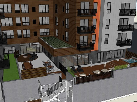 Minnesota-based Roers Investments plans to build a 90-unit apartment complex at 1400 Walnut St. The company is trying to start construction before the end of 2016 to meet a tax break deadline.