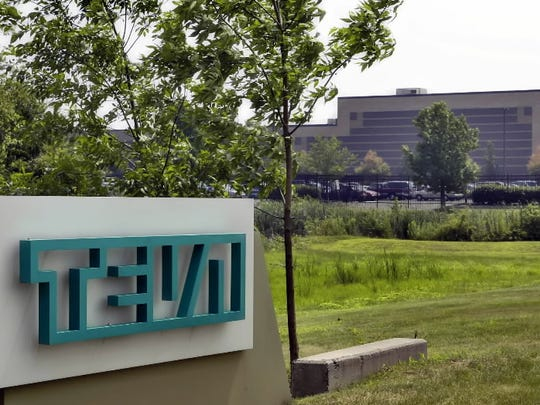 The Horsham, Pa., offices of Teva Pharmaceuticals North America are shown.