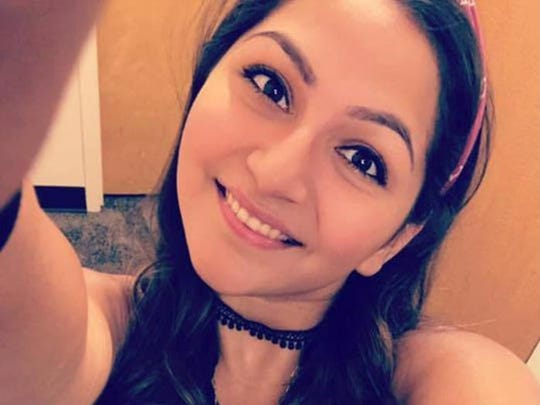 Angela Gomez, 20, who was killed in the LAs Vegas shooting