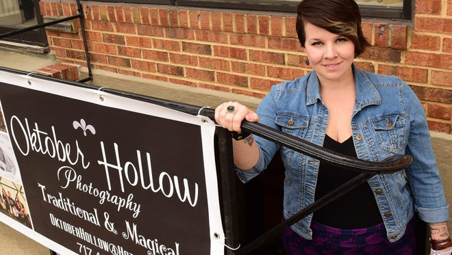 Jennifer Nickels, owner of October Hollow Photography, opened her new studio at 11 North Carlise Street, Greencastle.