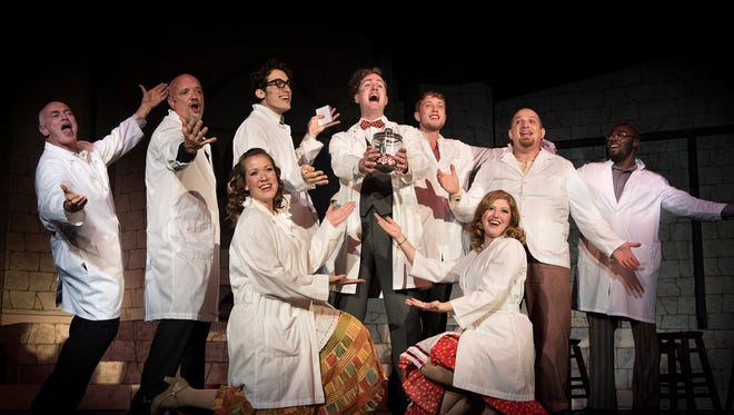 "After the success of last season's ""Young Frankenstein"" (pictured), Asheville Community Theatre will open its newly renovated theater space with ""The Producers"" in August 2017."