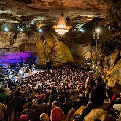 Bluegrass Underground is a concert series recorded live in the Volcano Room at Cumberland Caverns.