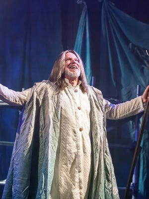 "Nicholas Rose starred as Prospero in Cincinnati Shakespeare Company's production of William Shakespeare's ""The Tempest."" It was a towering and deeply moving performance in what would be the company's final production in its Race Street home."