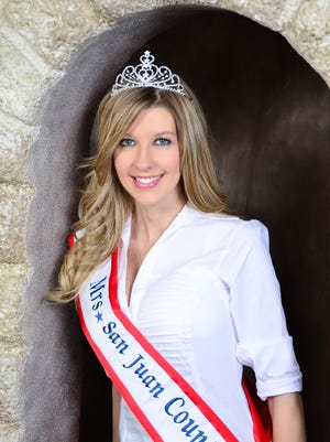 Savanah Lee Ray, of Aztec, has been selected as Mrs. San Juan County for 2017.