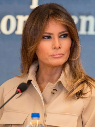 First Lady Melania Trump: Style Diary