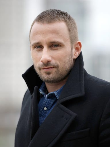 Matthias Schoenaerts attends the 'Red Sparrow' photocall
