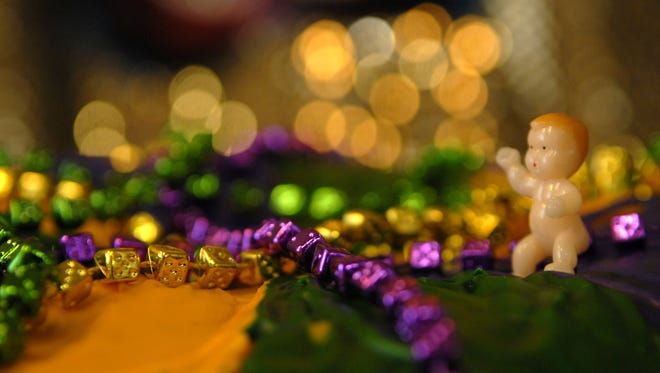 King Cakes are a part of the Mards Gras celebration.