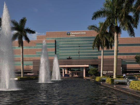 The Cleveland Clinic Florida hospital in Weston.