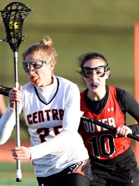Dover vs Central York girls' lacrosse
