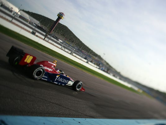 IRL IndyCar Series Testing