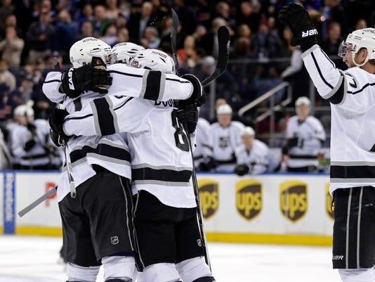 USP NHL: LOS ANGELES KINGS AT NEW YORK RANGERS S HKN USA NY