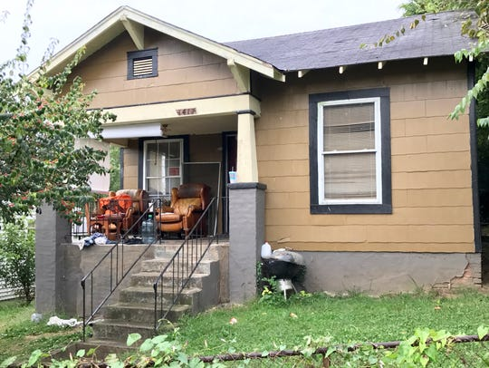 1417 McSpadden Street is pictured on Sept. 19, 2017.