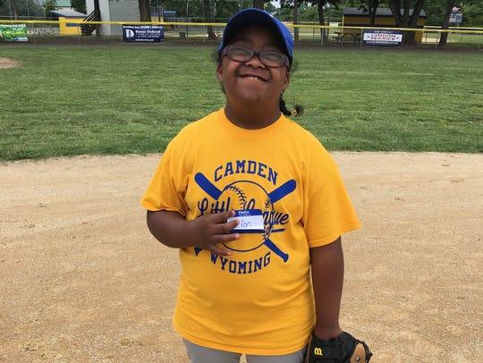 Because of the sleep apnea surgery, Zion Harris, 11,