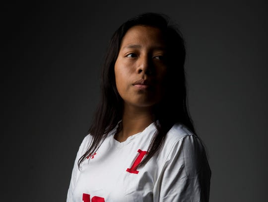 Immokalee junior soccer player Sandra Garcia.
