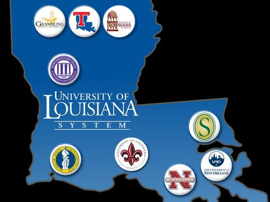 The UL System logo, submitted photo.