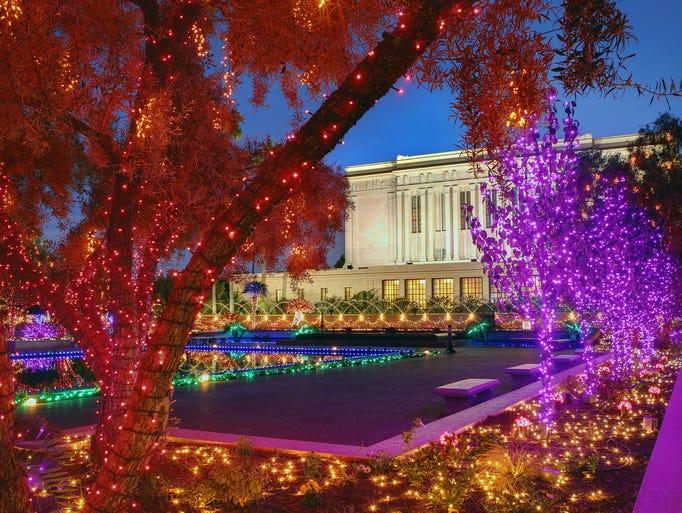 christmas light displays around the valley - Local Christmas Lights Displays